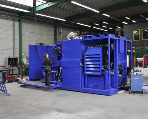 BFM 750 D horizontal dirrectional drilling custom machine building