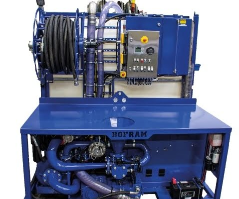 trenchless mixing and pump unit HDD BFM 250 d