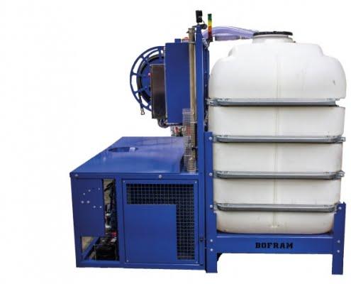 HDD dammer system BFM 250 d side