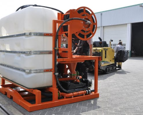 trenchless drilling bfm 180 d hdd unit