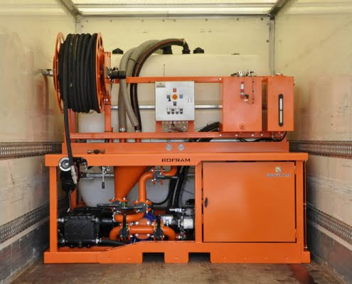 custom hdd machine bofram bentonite unit bfm 180 d truck installation