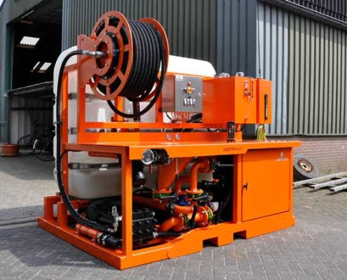 bofram Horizontal HDD Mud mix- & pump systems