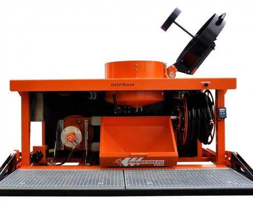Bofram Horizontal Directional Drilling pump mix unit dammer