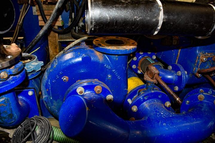 maintenance hdd unit mix- & pump system adjustment