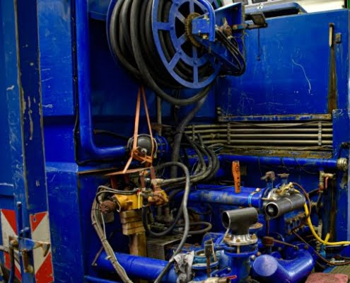 maintenance horizontal drilling unit