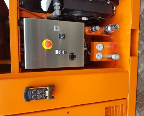 hydraulic power unit bf 40 pp with forklift pockets