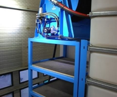 hose reel in hdd drilling truck