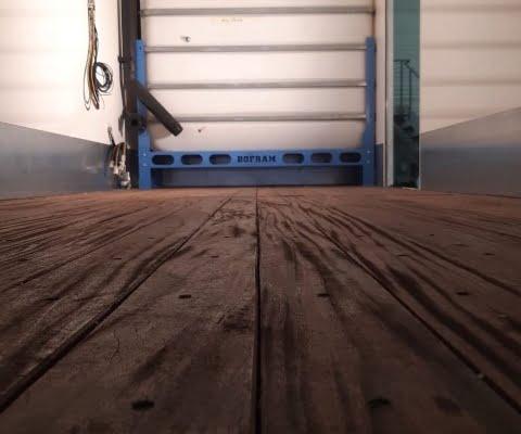 drilling vehicle blue powder coating