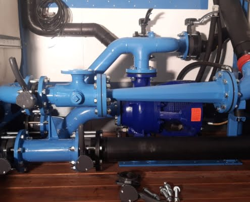 hdd mix system drilling unit