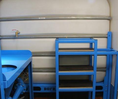 mix pump set horizontal drilling PTO