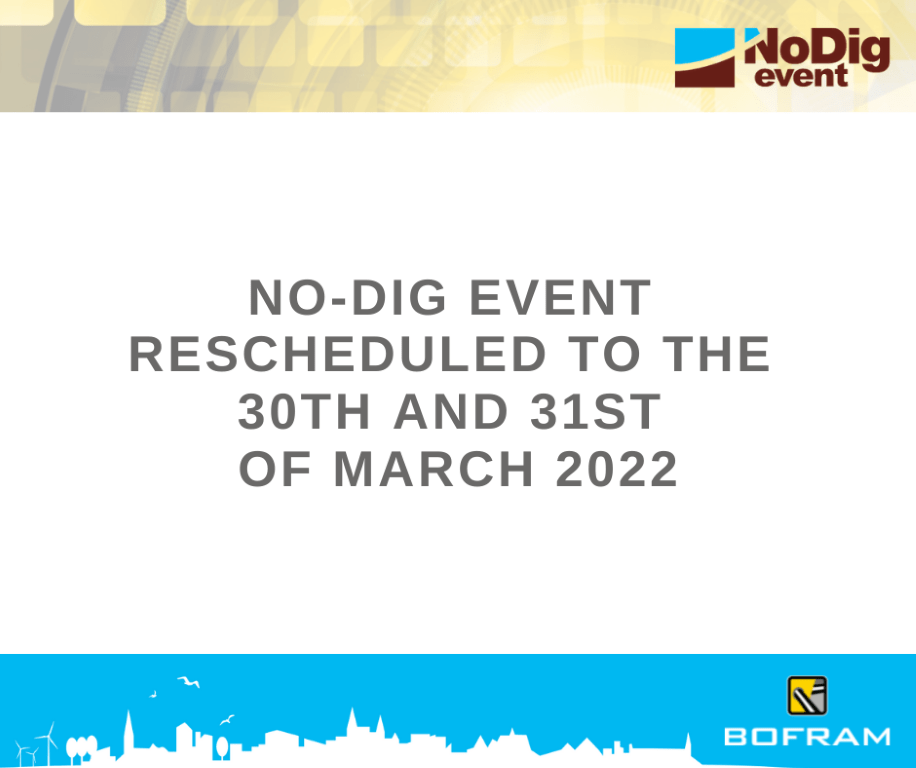 No-Dig rescheduled