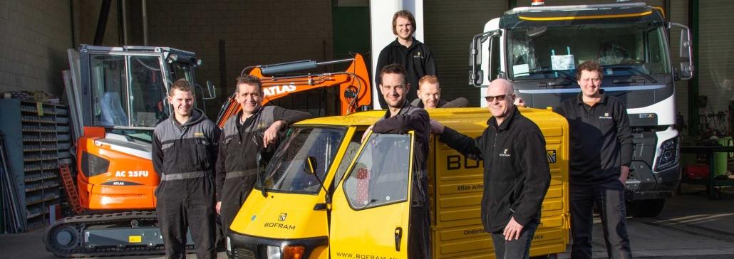 Team Bofram machinebouw op maat contact ons