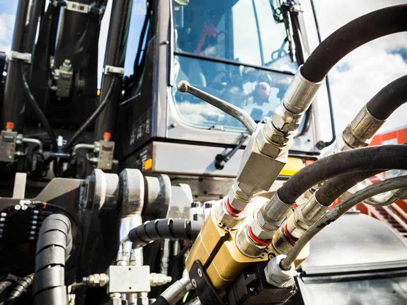 Hydrauliekservice en hydraulische powerpacks