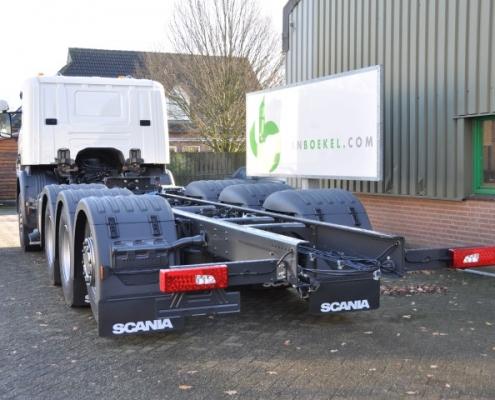 Vrachtwagen truck opbouw Van Boekel chassis