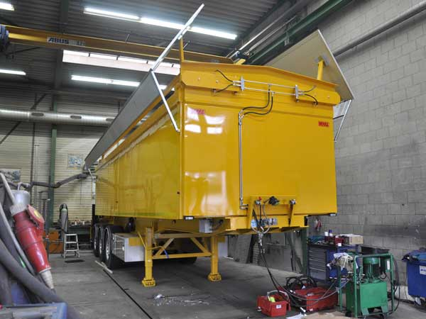 Vrachtwagenopbouw Bofram