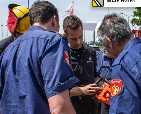 Bofram Atlas autolaadkraan Brandweer Brabant Oost
