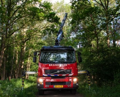 Brandweer Bofram Atlas kraan