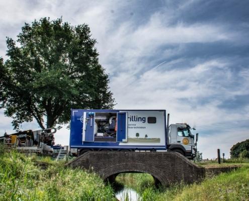 BFM 400 D Bofram Boorwagen Holland Drilling