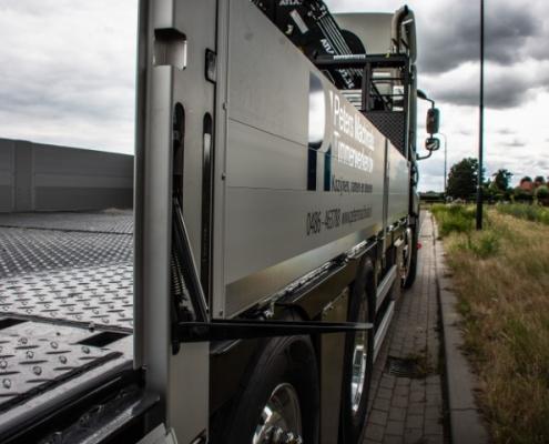 Bofram kinnegrip opbouw zware Atlas autolaadkraan Peter Peters Schaijk