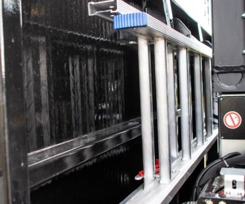 Bofram losse trap opbergen opbouw zware Atlas autolaadkraan Peter Peters Schaijk