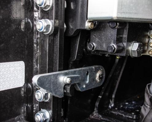 Bofram beveiliging steunpoot opbouw zware Atlas autolaadkraan Peter Peters Schaijk