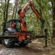 Bofram Techniek Tractor met Atlas autolaadkraan