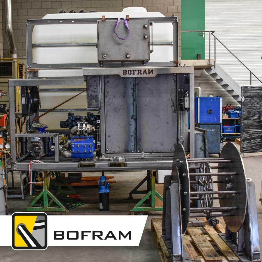 Demonstratiemodel HDD Bofram Techniek