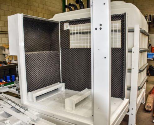 Bofram isolatie motorruimte voor geluidsreductie HDD unit