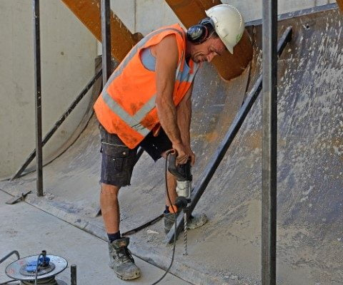 Stalen betonmal voor Van Boekel project Hülsenbruch