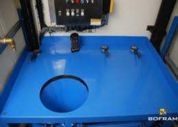 Complete opbouw boorwagen met HDD mix pump unit