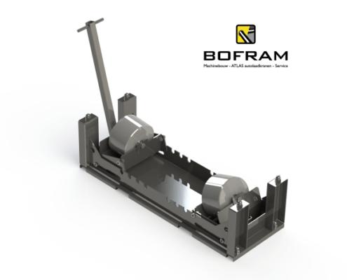 overig horizontaal gestuurd boormateriaal pipe roller 5t bofram
