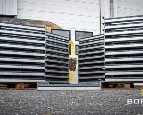 Pipe rollers ingeklapt en stapel Bofram Techniek Pipe Rollers Bundel (8)
