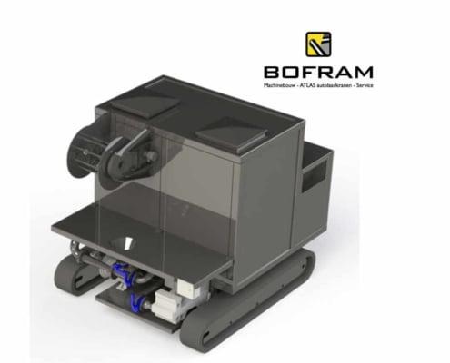 Bofram BFMP280DR Mix Pomp set met rupsonderstel