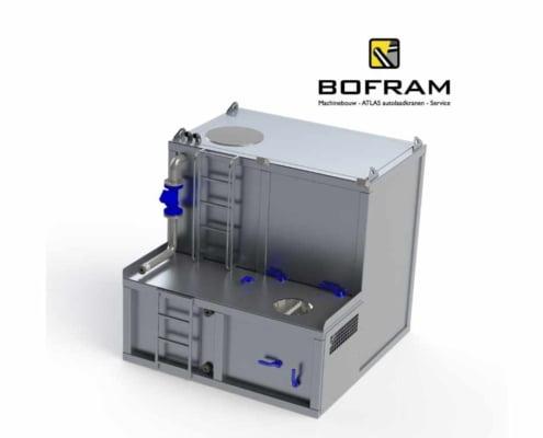 BFM 600D aluminium mix unit