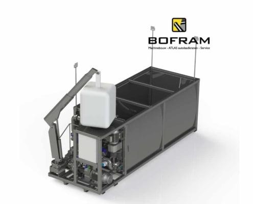 BFM 2000 EK mix unit met bigbag kraan
